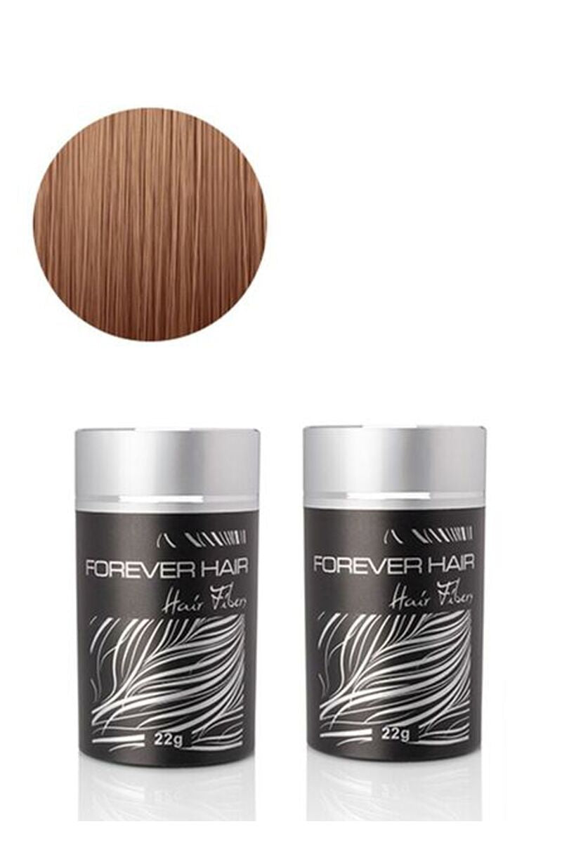 Forever Hair Fibers Hair Thickening Solution - Light Brown - RoyaleUSA
