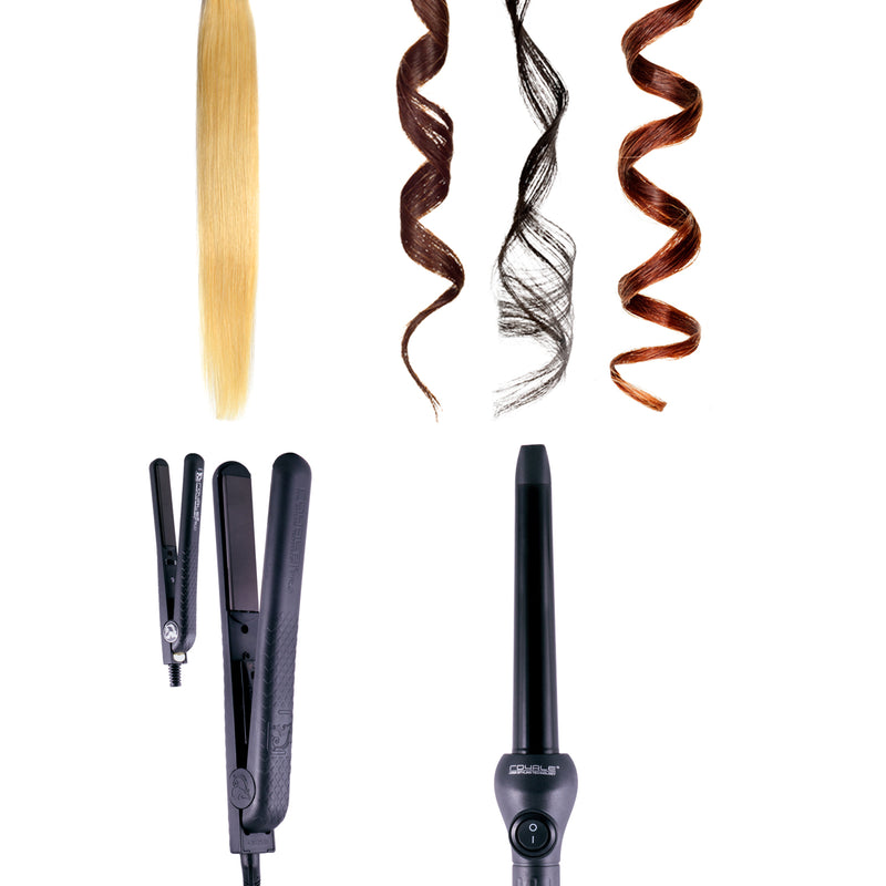 Royale Black Licorice Styling, Straightening & Curling Collection - RoyaleUSA