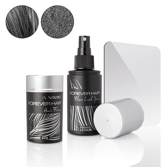 Forever Hair Fibers Hair Loss Solution Set - Gray