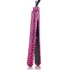 Classic Print 100% Ceramic Tourmaline Plates Soft Touch Hair Straightener - Hot Pink Leopard - RoyaleUSA