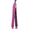 Classic Print 100% Ceramic Tourmaline Plates Soft Touch Hair Straightener - Pink Zebra - RoyaleUSA