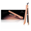 Platinum Genius Heating Element Hair Straightener with 100% Ceramic Plates - Rose Gold - RoyaleUSA