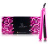 "1.25"" 100% Ceramic Plates Classic Hair Straightener - Pink - RoyaleUSA"