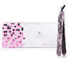 Classic Print 100% Ceramic Tourmaline Plates Soft Touch Hair Straightener - Pink Lace - RoyaleUSA