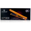 Platinum Genius Heating Element Hair Straightener with 100% Ceramic Plates - Orange Citrus