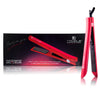 Platinum Genius Heating Element Hair Straightener with 100% Ceramic Plates - Red Scarlet - RoyaleUSA