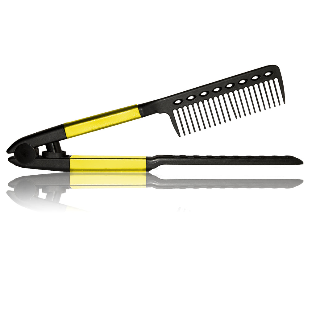Tension Comb - Yellow - RoyaleUSA