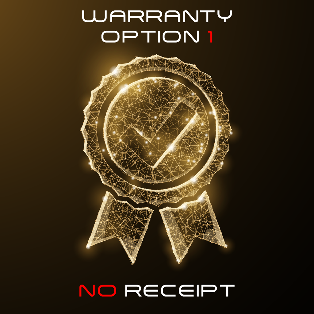 Warranty Option 1 - Shipping & Handling - No Receipt - RoyaleUSA