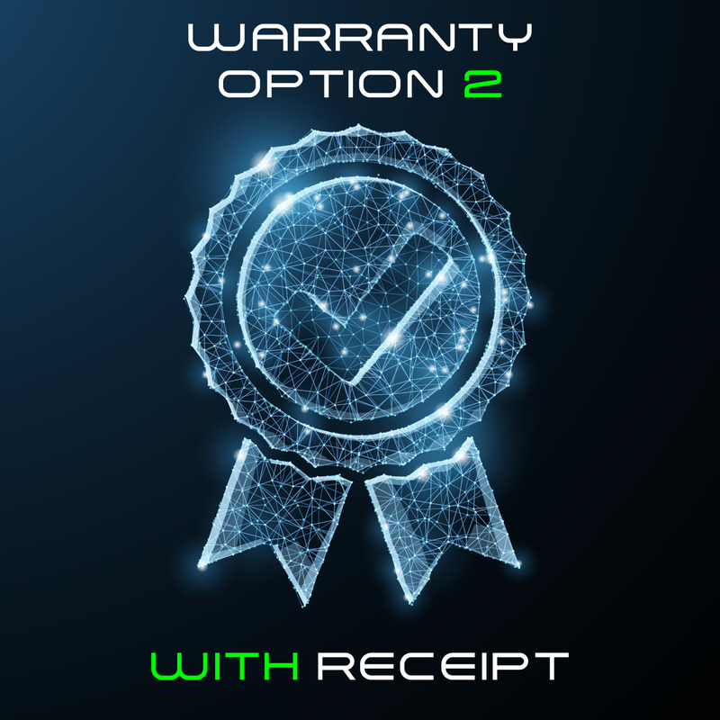 Warranty Option 2 - With Receipt - RoyaleUSA