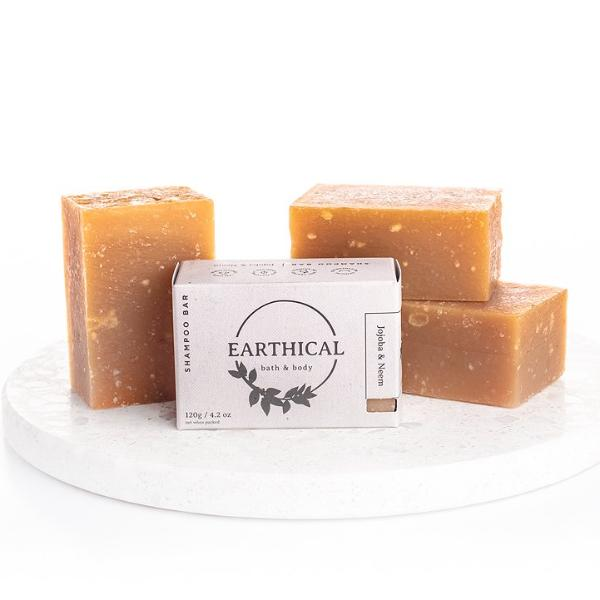 Jojoba And Neem Shampoo Bar