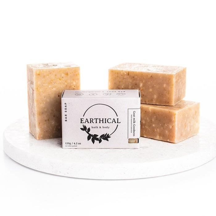 Goat Milk Goodness Soap with Oatmeal and Calendula
