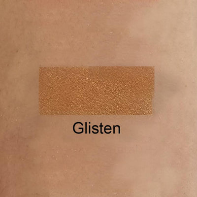 Glisten - Medium Golden Apricot Eye Shadow