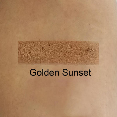 Golden Sunset - Intense Golden Copper Eye Shadow With Shimmer