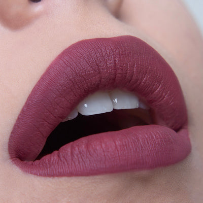 Touch Me - Dark-Nude Rose Matte Liquid Lipstick