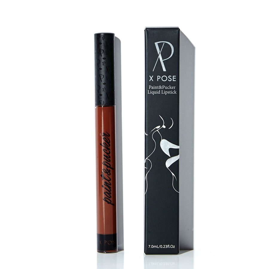 Vow This - Deep, Rich, Chocolate-Brown Matte Liquid Lipstick