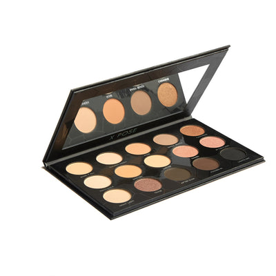 Bare it All Palette - Brown/Grey/Black 15 Color Eye Shadow Palette
