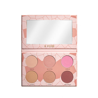 Blushing Bombshell - Soft Pink and Gold Blush
