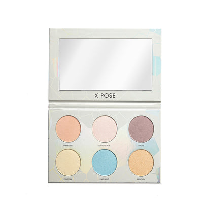 Spotlight Palette - 6 Color Highlight Palette