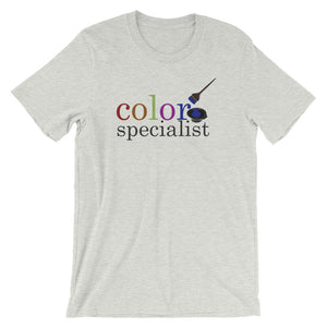 Color Specialist Hairstylist Salon Tee, Short-Sleeve Unisex T-Shirt