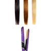 1″ Nano Fiber Flat Iron With Zero Friction Technology - Purple - RoyaleUSA