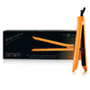 Platinum Genius Heating Element Hair Straightener with 100% Ceramic Plates - Neon Orange - RoyaleUSA