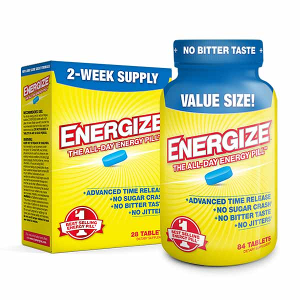 ENERGIZE™ <span>All-Day Energy Pills</span>