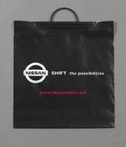 Custom Printed Low Density Rigid Loop Handle Bag