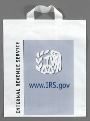 Custom Printed Low Density Soft Loop Shopping Bag 13x18