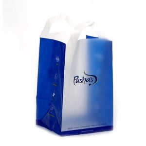 Custom Printed Hi Density Frosty Shopping Bag