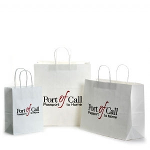 Custom Printed Coordinated Packaging  For Paper Shopping Bags