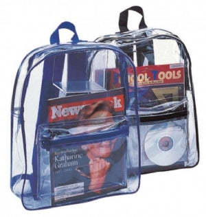 Custom Printed Clear Security Backpack Bag