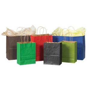Shopping Bags - Kraft Tinted