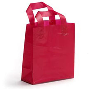 Shopping Bags - Frosty High Density Shoppers (4.0 Mil)