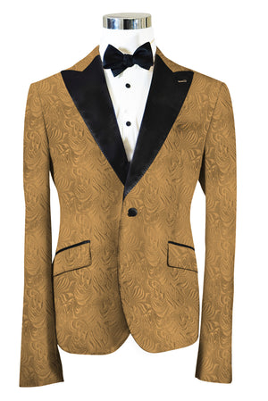 The Regal Gold Paisley Dinner Jacket