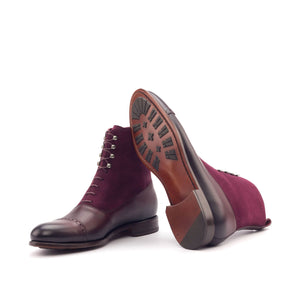 The Sweet Red Wine Balmoral Boot