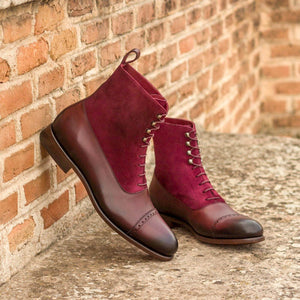 The Sweet Red Wine Custom Balmoral Boot