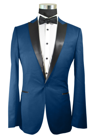 The Regal Navy Blue Tuxedo