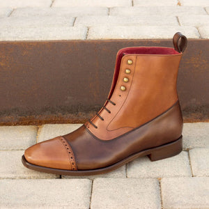 The Double Brown Balmoral Custom Boot