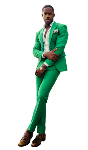 The Regal Emerald Suit