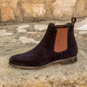 The Black Majesty Custom Chelsea Boot