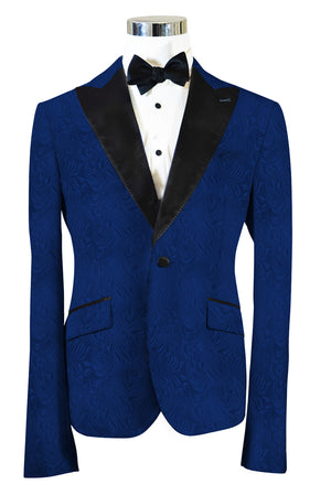 The Regal Blue Paisley Dinner Jacket
