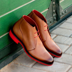 The Hot Brown Custom Chukka Boot