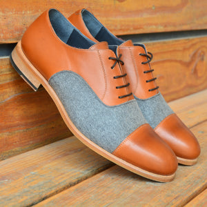 The Cognac Derby Custom Shoe