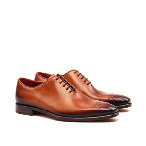 The Cognac Whole Cut Custom Shoe
