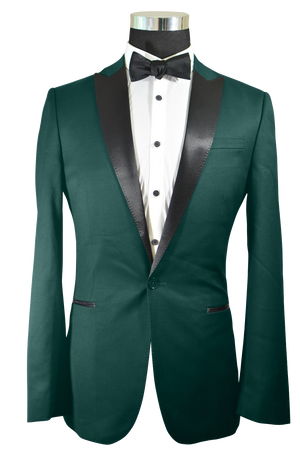 The Regal Forest Green Tuxedo