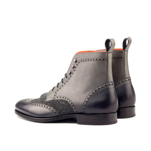 The Steel Grey Custom Boot