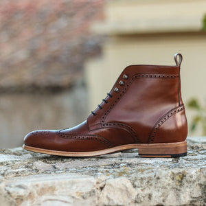 The Mocha Brogue Custom Boot