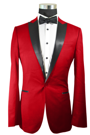 The Regal Red Tuxedo