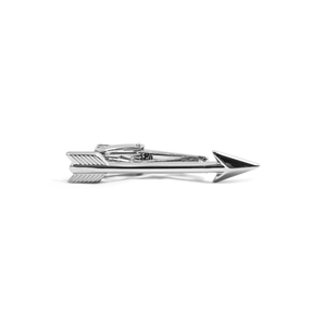 Silver Arrow Tie Bar