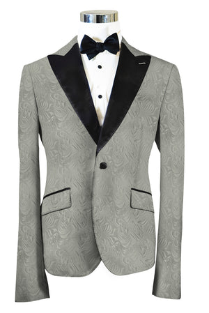 The Regal Silver Paisley Dinner Jacket
